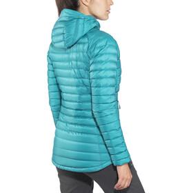 Rab Microlight Alpine Long Naiset takki , petrooli